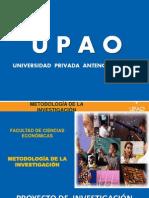 Doc. 2  Proyecto de investigación - Aspectos informativos