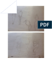 Character and Acting Gesture Drawings
