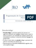 PROG1 3 Pseudo-Codigo