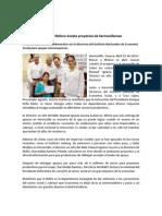 15-04-14 016 BOLETÍN - Respalda Maloro Acosta proyectos de hermosillenses