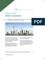 Better Cities, Better Economies