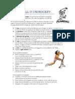 Reglamento Floorball Reducido