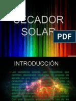 Diapositivas -Secador Solar