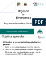 Tutorial Emergencia Urgencia