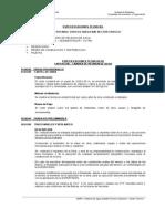 Especificaciones Tecnicas 002