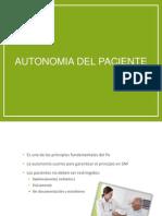 Autonomia Del Paciente Amando