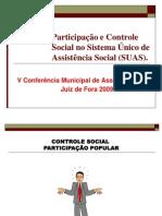 Controle Social Lea Braga