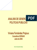Anal is Genero Politic as Public As