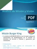 Análisis de Misión y Visión