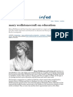 Mary Wollstonecraft on Education