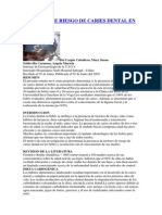 FACTORES DE RIESGO DE CARIES DENTAL EN BEBÉS