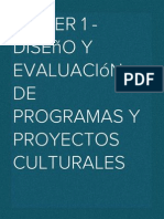 Taller 1_Diseño y evaluación de programas y proyectos culturales