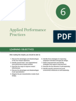Chapter 6 Applied Performance Practices