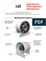 Axial Fans for ATEX Explosive Atmospheres