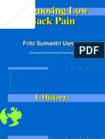 Low Back Pain Ppt