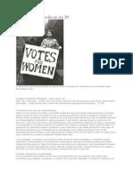 Feminismo e Filosofia No Sec 20
