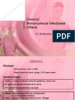 Curs 5 Oreion, Mononucleoza, Difterie