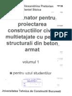 or Pentru Proiectarea Constructiilor Civile Multietajate Cu Pereti Structurali Din Beton Armat