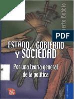 Bobbio Norberto_Estado Poder y Gobierno_Estado Gobierno y Sociedad 1