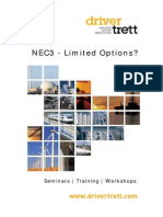 NEC3 - Limited Options
