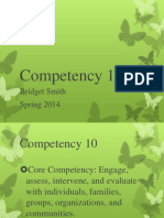 competency 10