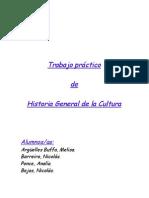 Trabajo Practico Historia de La Cultura