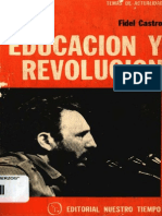 EducacionYRevolucion Fidel Castro