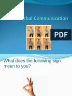 Nonverbal Comunication