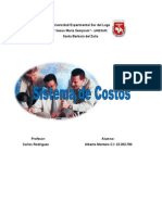Sistemas de Costos - Aregenis