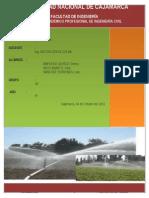 Informe 1TE-Irrigacion