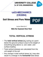 L2 Soil Stress and Pore Water Pressure