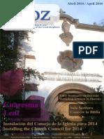 La Voz Abril 2014-1