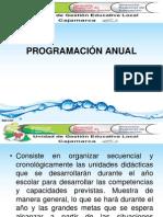 1. PLANIFICACIÓN ANUAL 2014