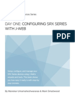 Configuring SRX With JWeb