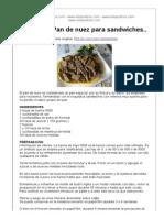 Pan de Nuez Para Sandwiches1