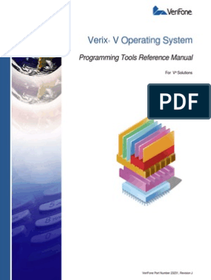 23231 Verix v Operating System Programming Tools Reference