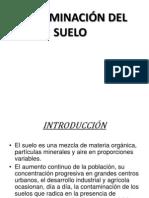 CONTAMINACIÓN DEL SUELO ING. AMBIEN