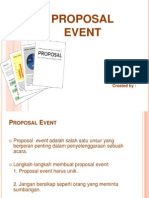 Proposal Event