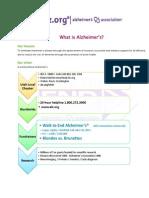 alzheimers association presentation 2013