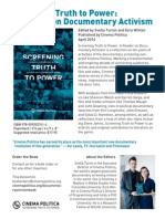 Screening Truth To Power - One Sheet