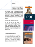 Lectures 3r Trimestre 2014