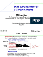 AMITAY, Miki - Performance Enhacements of Wind Turbine Blades