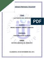 MONOGRAFIA - FUENTES DEL DERECHO - HISTORIA GENERAL DEL DERECHO.docx