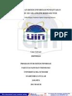 Skripsi Sistem Informasi Pendaftaran Siswa Online