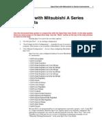 Mitsubishi a Series Appendix