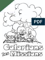 Colorions Les Missions - A4