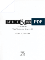 Spice and Wolf Vol. 9-Town of Strife II