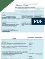planeacion para la escuela José María Pino Suarez( español, matematicas y ciencias naturales
