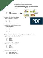 GUIA DE ESTUDIO PRUEBA HISTORIA 3º BASICO
