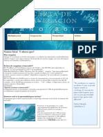 Carta de navegación 2014